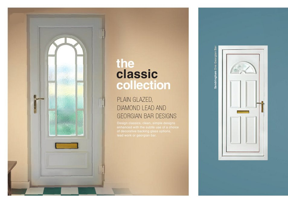 uPVC Doors & PVCu Front Doors | PVCu Back Doors | uPVC Feature Door Panels